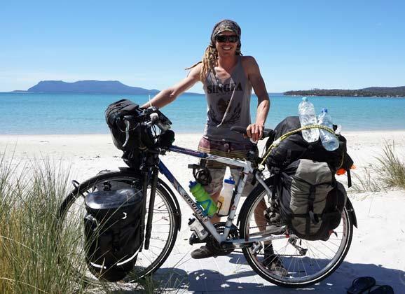 Jono Cane on cycling around the world