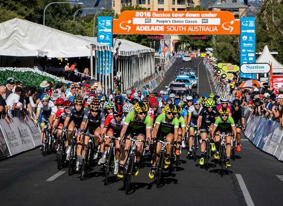 Santos Women's Tour – stage 2 gallery