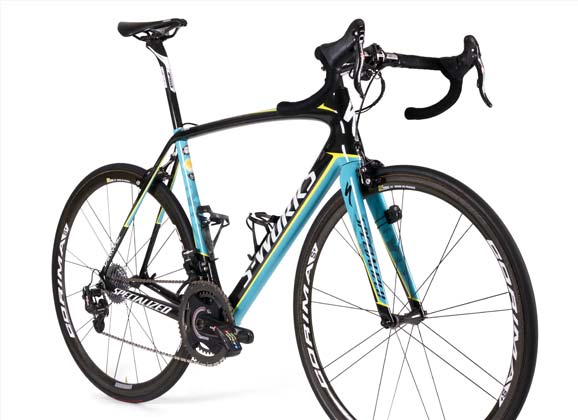 Team bikes: Astana 2016 – Specialized