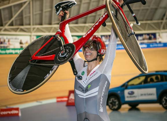 Bridie O'Donnell interview: the hour record… and more