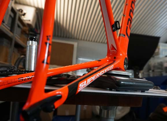 Cannondale SuperSix Evo workshop gallery