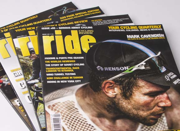 RIDE Cycling Review: no more UK editions