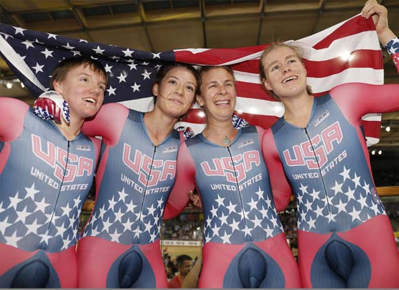 Track worlds: day three –gold for Team USA