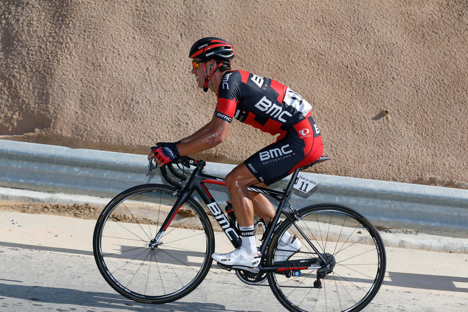 Between his Australian races in January and the podium in Paris-Nice, Porte competed – without great success – in Oman.  Photo: Yuzuru Sunada