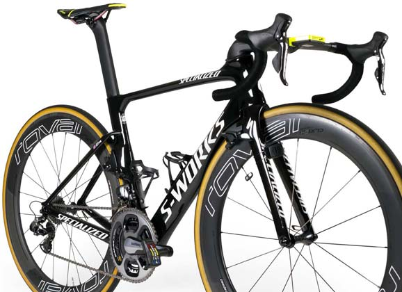 Team bikes: Tinkoff 2016 – Specialized