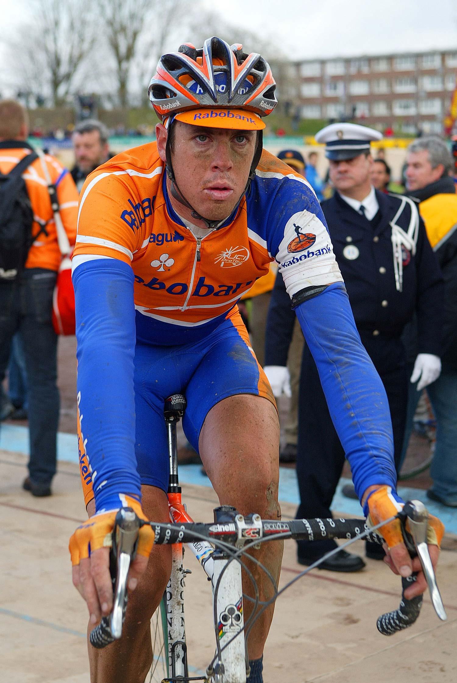 2005: 78th in Paris-Roubaix. Photo: Yuzuru Sunada