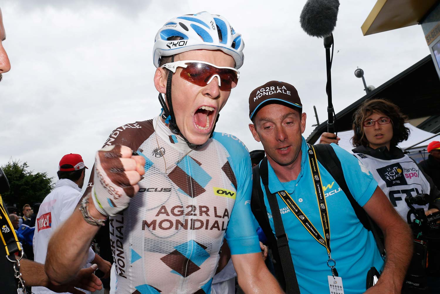 Good things come to those who wait. Romain Bardet has won a stage in the final week of both the 2015 and 2016 Tours de France. Photo: Yuzuru Sunada