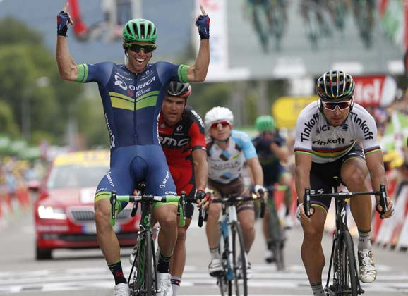 Matthews finishes off the job: stage winner in Revel
