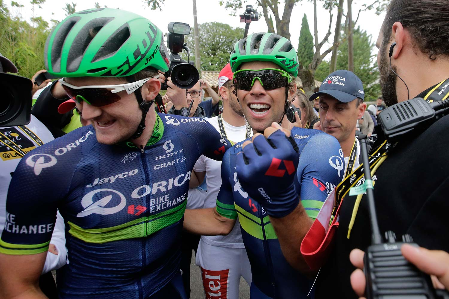 Luke Durbridge played a key role in earning the Orica-BikeExchange its first stage win in the Tour since 2013. Photo: Graham Watson