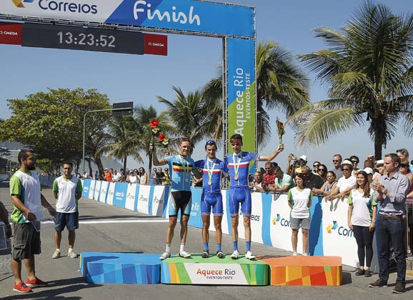 To the road race: Rio Olympics provisional start list