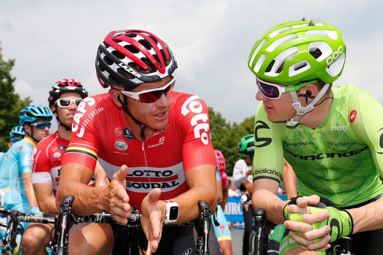 Hansen and Simon Clarke are two of the seven Australians who will start the Vuelta in 2016. Photo: Yuzuru Sunada