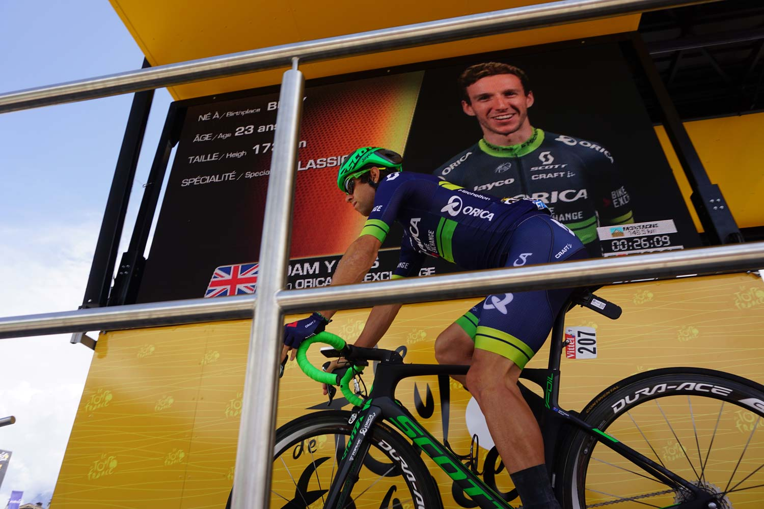 Two of the stars of OBE at the Tour de France in 2017 were Michael Matthews and Adam Yates.  The Australian won a stage, the Brit claimed the white jersey and finished fourth overall. But they will soon part ways as OBE shifts its focus and strives to become a true GC team... and Matthews sets off to Giant-Alpecin and the next phase of his career. Photo: Rob Arnold