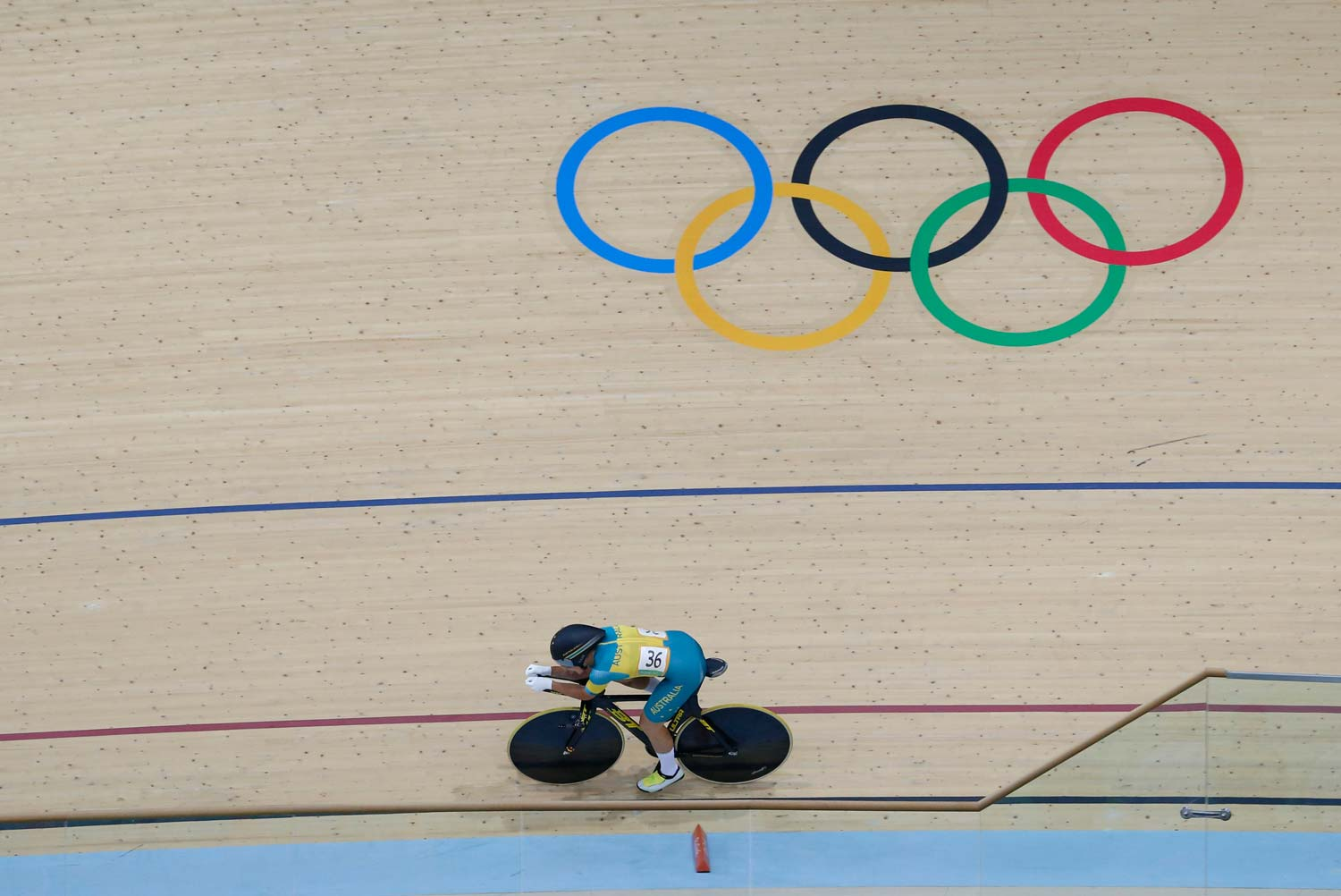 The Olympics provide a showcase of track cycling but it hasn't translated to a large uptake of interest... Photo: Yuzuru Sunada