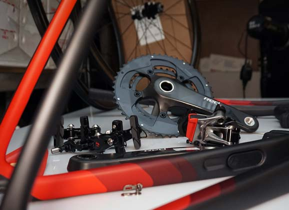 RIDE 73 – Trek Domane SLR 9 workshop gallery