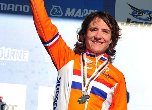 Marianne Vos: soon to ride in Western Australia