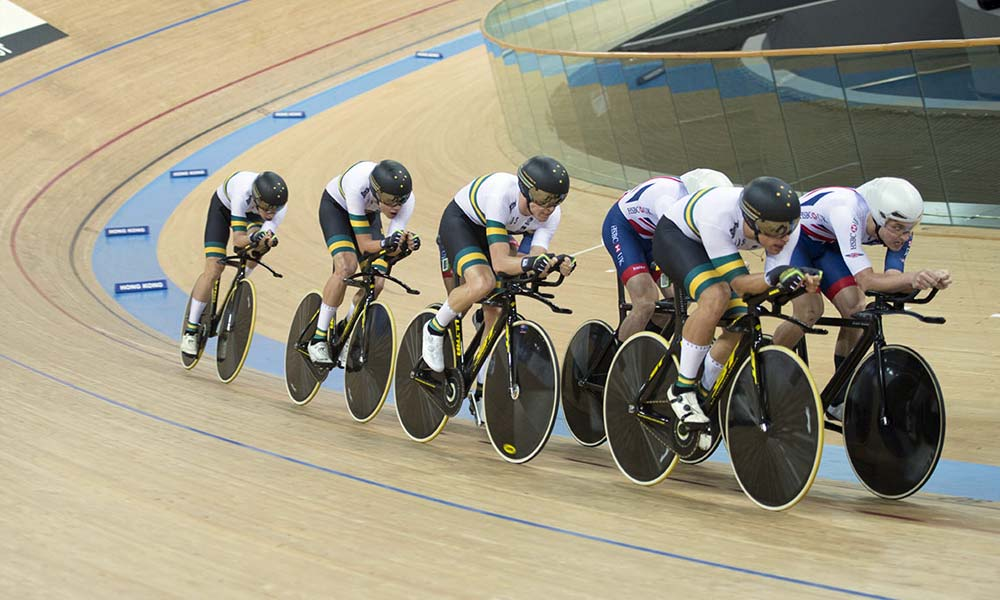 3:50.577 – third fastest team pursuit ever
