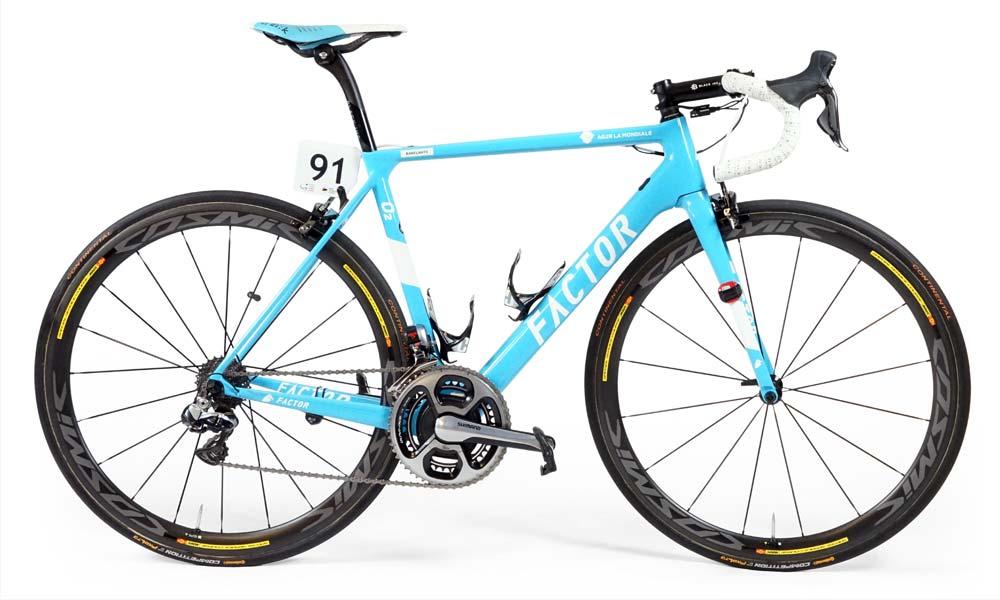 Team bike 2017: AG2R La Mondiale's Factor