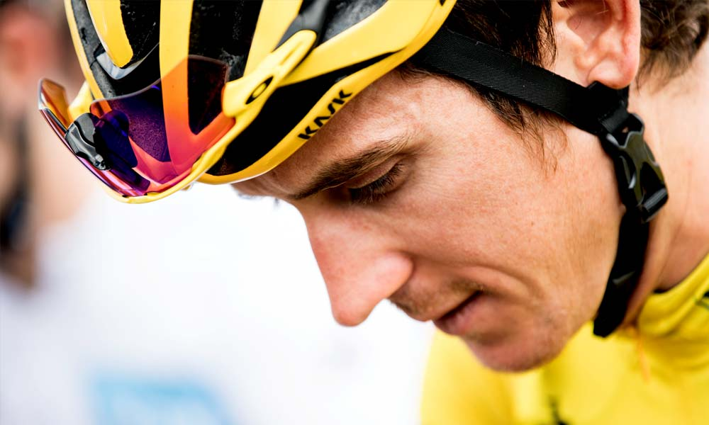 Geraint Thomas out of the Tour