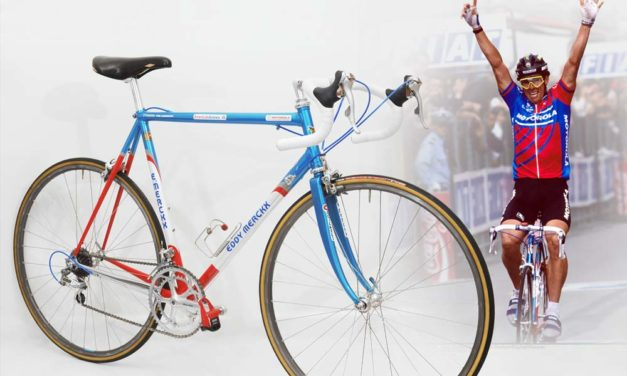 Phil Anderson's 1991 Motorola team-issue Merckx