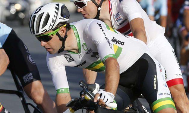 Matthews leads Australian team for world championships