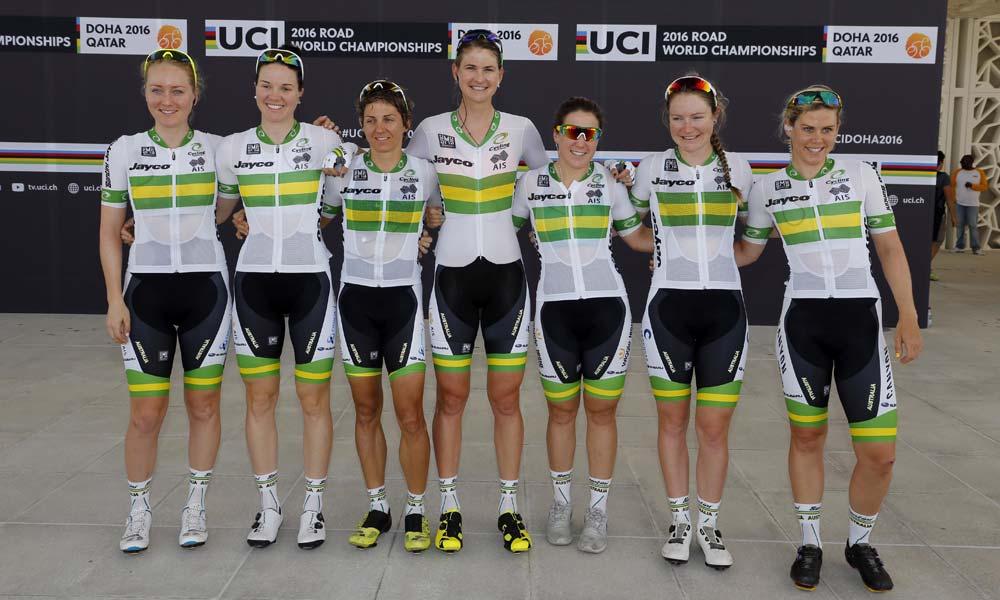 Jones on selection for Australian women's team