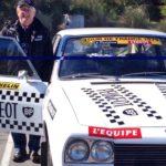 Restoration job: 504 Peugeot replica team car