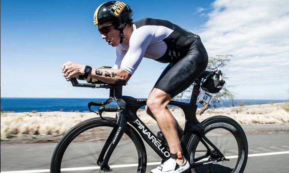 Cameron Wurf: record ride at Ironman