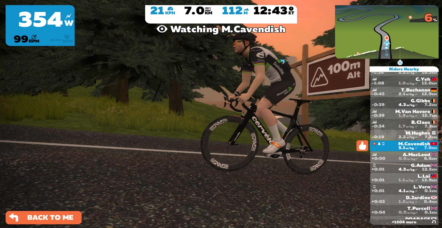"""Comment: """"A new habit, Zwifting"""" - Ride Media"""