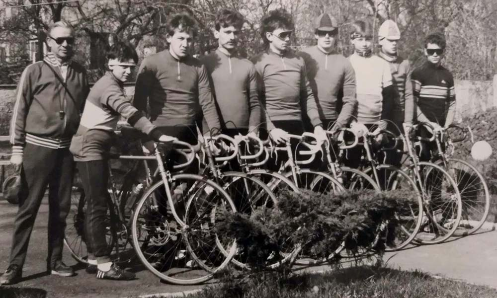 History: cycling, trading and the black market