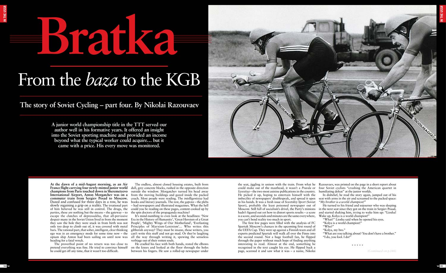 Story of Soviet Cycling  The Nikolai Razouvaev Files - Ride Media 317c81457