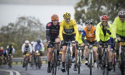 Another ride with Chris Froome