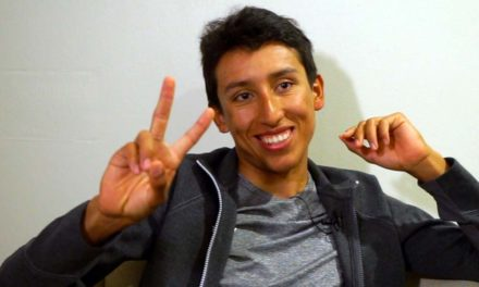 Talking cycling with Egan Bernal – a young Colombian at Team Sky