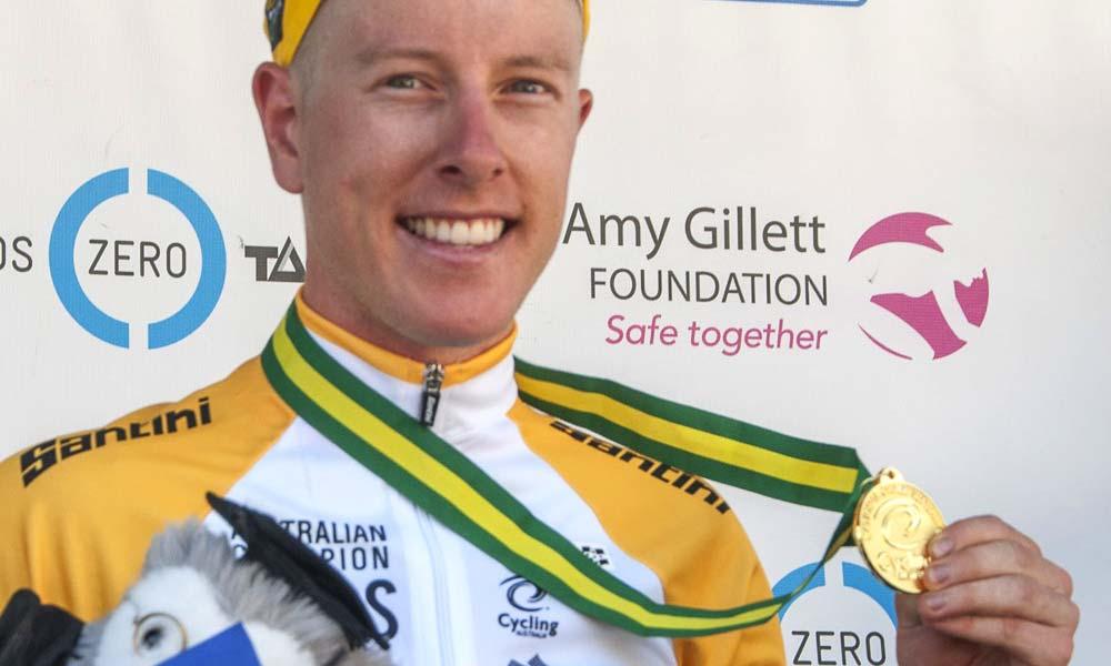 Cyrus Monk: under-23 road race champion