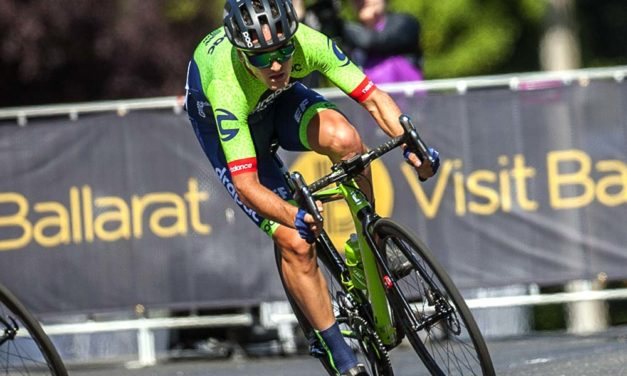 Drapac-EF: powered by Cannondale, stopping with disc brakes