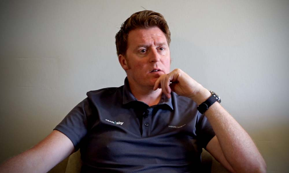 Talking Cycling with Rod Ellingworth of Team Sky