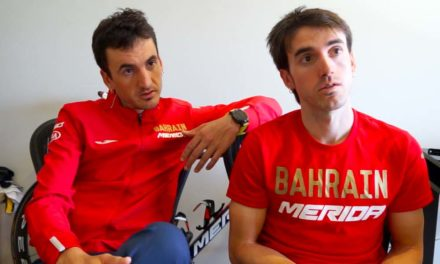 Talking cycling with Gorka and Ion Izaguirre