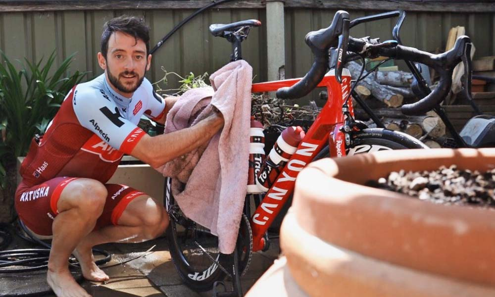 Nathan Haas Q&A: ready for his debut with Katusha-Alpecin