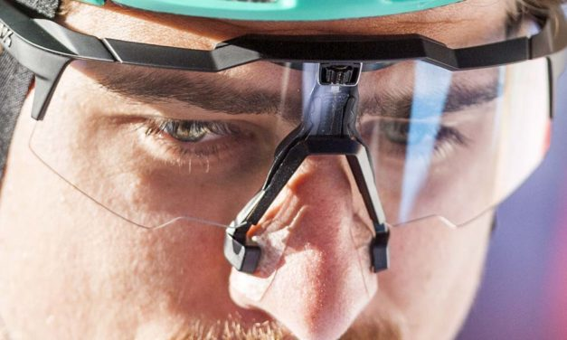 What's going on with Peter Sagan's nose?