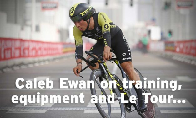 Caleb Ewan on training, equipment and Le Tour