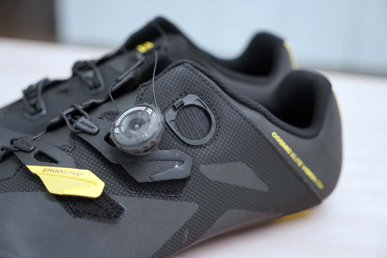 c7d5f0b34f8 ... below are a few more photos of the Cosmic Elite Vision shoes – the ones  with a retail price that's just a fraction of the Ultimate offering by Mavic .