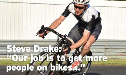 "Steve Drake: ""Our job is to get more people on bikes"""