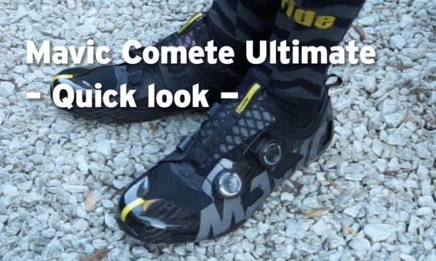 Mavic Comete Ultimate shoes – a quick look