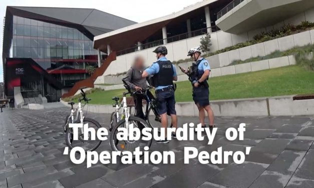Cycling in NSW and the absurdity of Operation Pedro