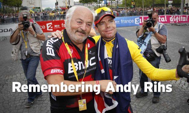 In memoriam: Andy Rihs (2 November 1942 – 18 April 2018)