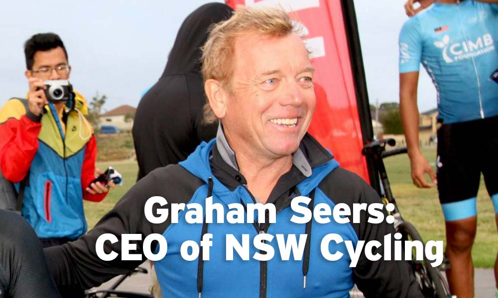 Graham Seers appointed as CEO of Cycling NSW