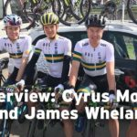 Cyrus Monk and James Whelan on under-23 Tour of Flanders