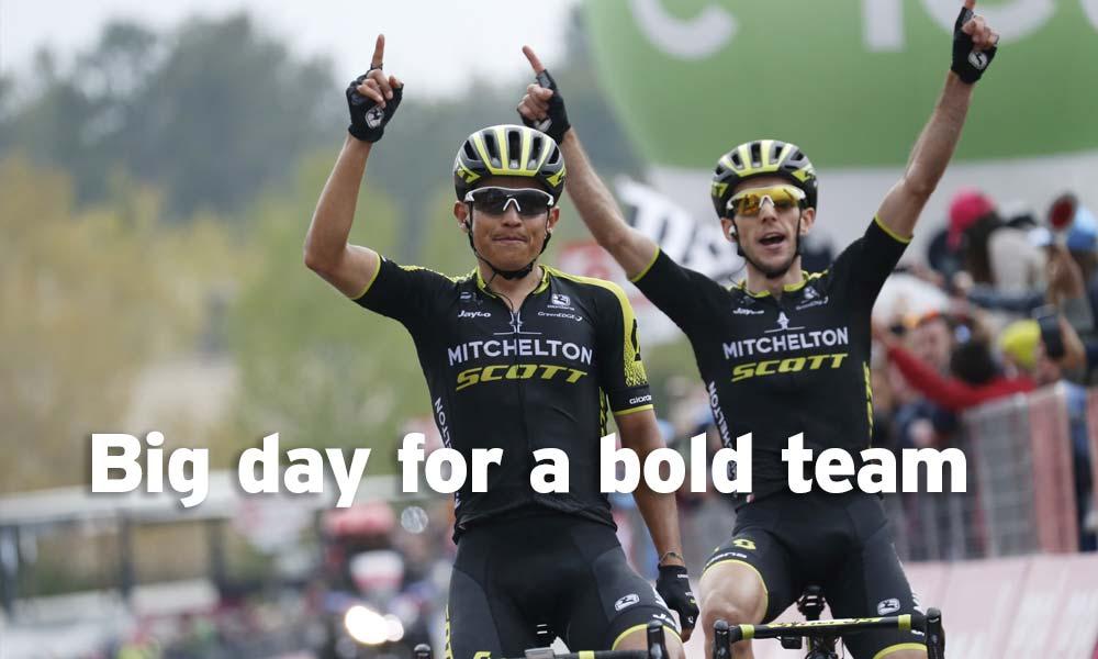 Turning ambition into reality: Mitchelton-Scott at the Giro d'Italia