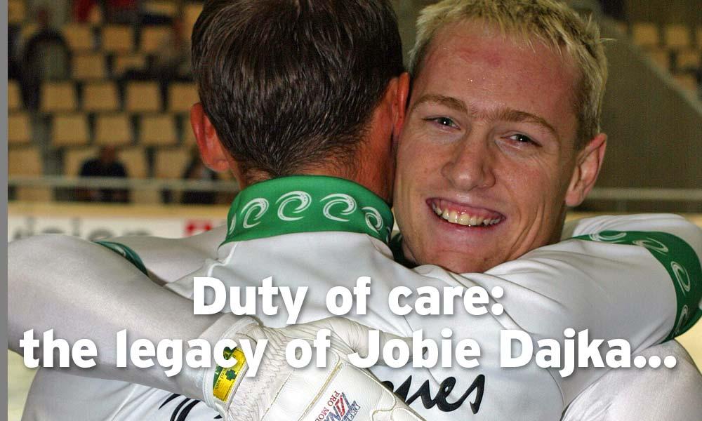 Comment: The legacy of Jobie Dajka
