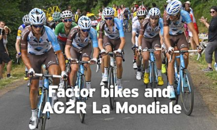 "Factor and AG2R La Mondiale: ""It's 280-plus bikes per year"""
