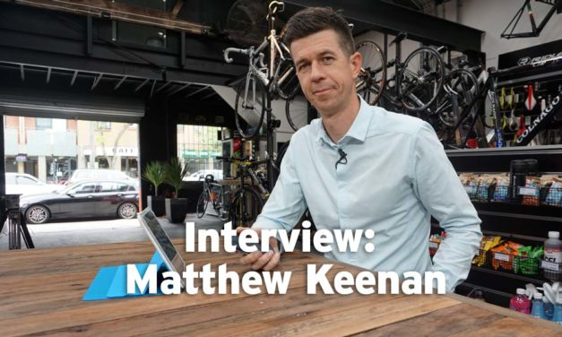 Matthew Keenan on Tour de France commentary